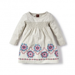 Moon Valley Graphic Dress for Baby Girls | Tea Collection