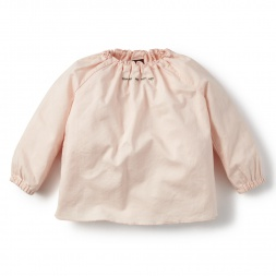 Pink Elisa Rivera Peasant Top for Baby Girls | Tea Collection