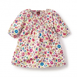 Floral Mercado Rodriguez Smocked Dress for Baby Girls | Tea Collection