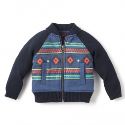 Beni Zip Cardigan for Baby Boys | Tea Collection