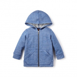 Blue Little Explorador Hoodie for Baby Boys | Tea Collection