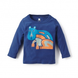 Baby Boys Capybara Graphic Tee Shirt | Tea Collection