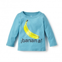 La Banana Graphic Tee Shirt for Baby Boys | Tea Collection