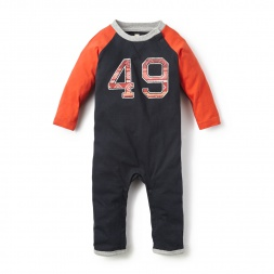 Baby Boys Wiphala Raglan Romper | Tea Collection