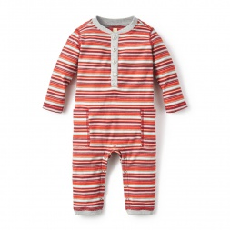 San Juan Pocket Romper for Baby Boys | Tea Collection
