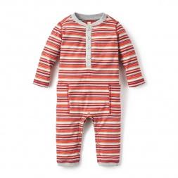 San Juan Pocket Romper for Baby Boys | Tea Collection