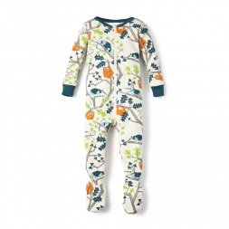 Tree Mates Baby Pajamasfor Baby Boys | Tea Collection