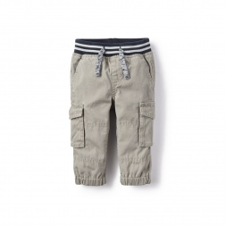 Reverse Twill Baby Pants for Baby Boys | Tea Collection