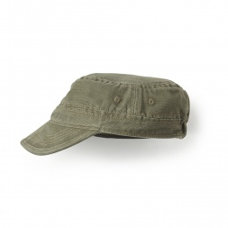 Green Canvas Cadet Hat for Little Girls | Tea Collection