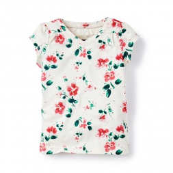 Floral Tarija Topfor Little Girls | Tea Collection
