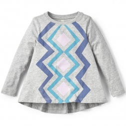 Kullawada Twirl Top for Little Girls | Tea Collection