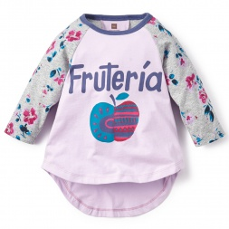 Tarija Fruteria Graphic Tee Shirt for Little Girls | Tea Collection