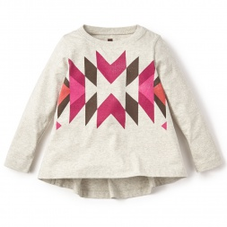 Morenada Graphic Tee for Little Girls | Tea Collection