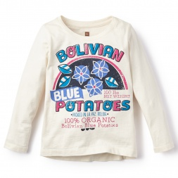 Little Girls Las Patatas Graphic Tee | Tea Collection