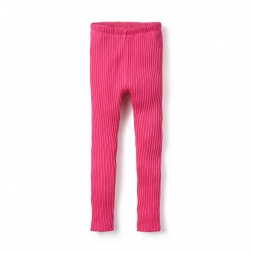 Pointelle Leggings for Little Girls | Tea Collection