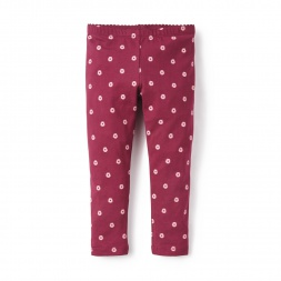 Red Montero Leggings for Girls | Tea Collection