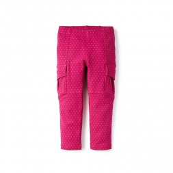 Skinny French Terry Cargos for Little Girls | Tea Collection