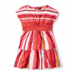 Embroidered Tiquipaya Banded Dress for Little Girls | Tea Collection