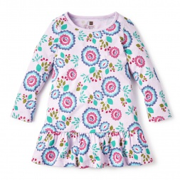 Floral Anabella Ruffled Dress for Girls | Tea Collection