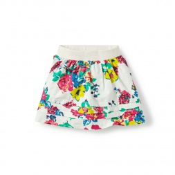 Floral Marina Twirl Skirt for Girls | Tea Collection