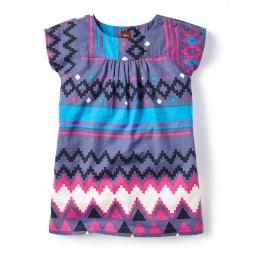 Belzu Twill Dress for Little Girls | Tea Collection