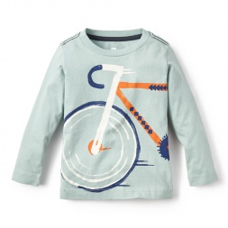 Bicicleta Graphic Tee for Little Boys | Tea Collection