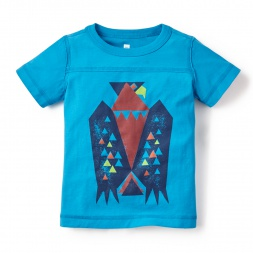 Blue Boys Condor Graphic Tee | Tea Collection