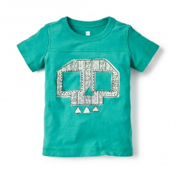 Craneo Graphic Tee Shirt for Boys | Tea Collection