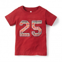 Boys Numero 25 Graphic Tee Shirt | Tea Collection