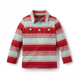 Tejado Stripe Polo Shirt for Boys | Tea Collection