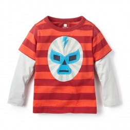 Lucha Libre Graphic Tee for Boys | Tea Collection