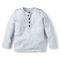 Rio Yata Henley Top for Little Boys | Tea Collection