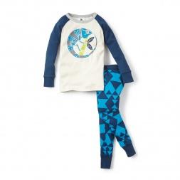 Totally Geo Pajamas for Boys | Tea Collection