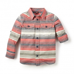 Gonzales Stripe Shirt for Little Boys | Tea Collection