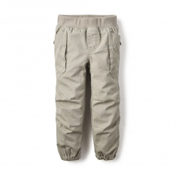 Green Cargo Joggers for Little Boys | Tea Collection