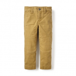 Twill Moto Pants for Little Boys | Tea Collection