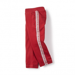 Bolivian Side Stripe Pants for Little Girls | Tea Collection