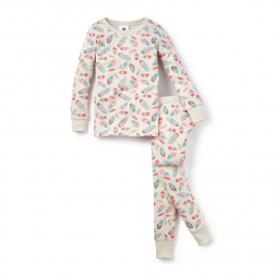 Arte Plumano Pajamas for Little Girls | Tea Collection