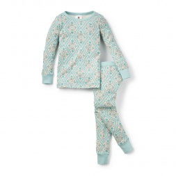 Floral Villa Flores Pajamas for Girls | Tea Collection