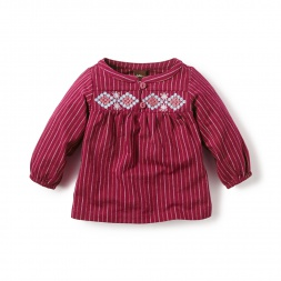 El Alto Peasant Top for Baby Girls | Tea Collection