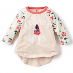 Bombin Graphic Tee Shirt for Girls | Tea Collection