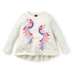 Peacock Twirl Top