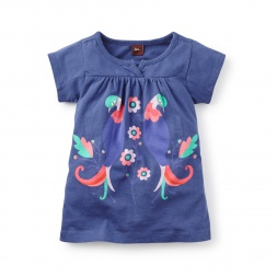 Paloma Graphic Baby Dress
