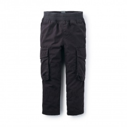 Lined Cargo Pants | Tea Collection