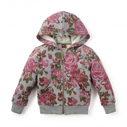 Rosa Zip Hoodie | Tea Collection