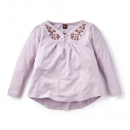 Malambo Embroidered Top | Tea Collection