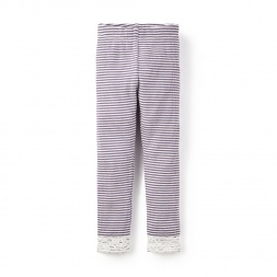 Striped Thermal Leggings | Tea Collection