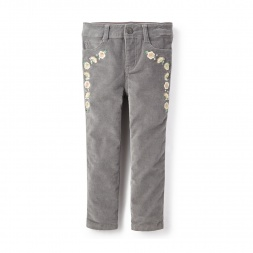 Cinta Embroidered Piper Pants | Tea Collection