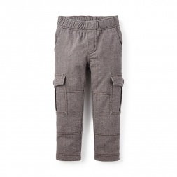 Herringbone French Terry Cargo | Tea Collection