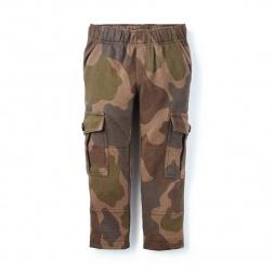 Camo French Terry Cargo Pants | Tea Collection
